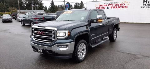 Pre-Owned 2018 GMC Sierra SLT 1500 4WD Doubl Four Wheel Drive Pickup